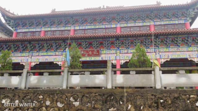 湖北省当局が合法的な寺院を閉鎖...