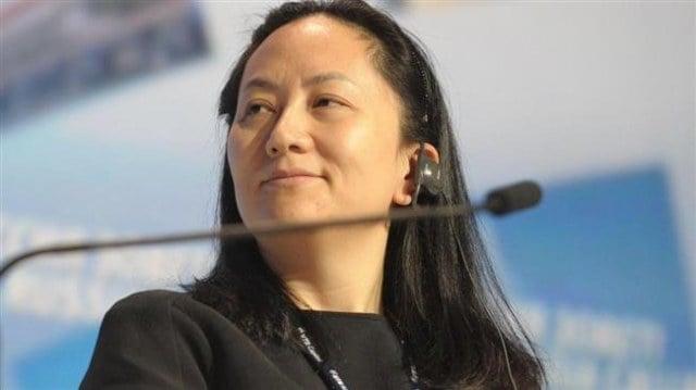 中国最大の企業の1つであるファーウェイの副会長兼最高財務責任者(CFO), 孟晩舟(モン・ワンジョウ)