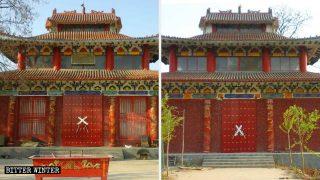 短期間に次々と封鎖される河南省の寺院