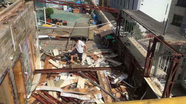広州改革宗教会の修養施設は取り壊された(内部筋が提供)