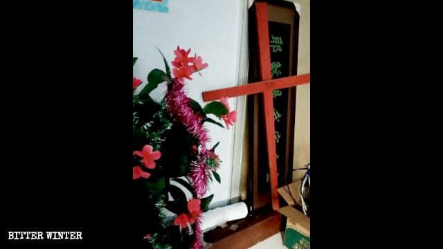 3月、浜州市の家庭教会が閉鎖され、十字架が撤去された。