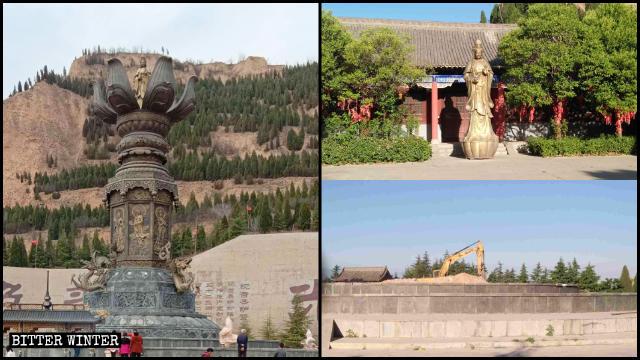観音像は5月に取り壊された。