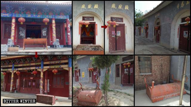 鳳凰頂大廟は5月13日に閉鎖された。