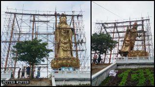 観光地で人気の仏像を経費度外視で全て撤去