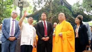 「改装」され、中国共産党の質草にとられる仏教寺院