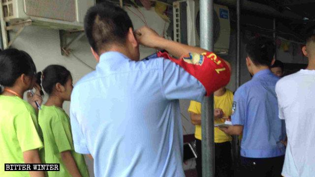 当局が江西省廬山市の教会の夏季キャンプ活動を強制捜査した。