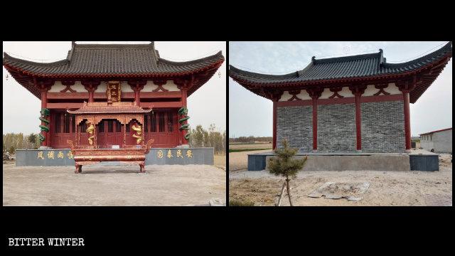 「政治的に適切」でも弾圧される仏教寺院