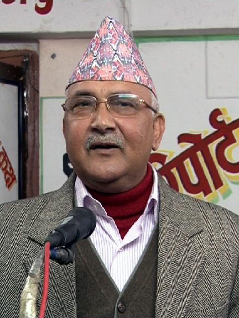 ネパールのシャルマ・オリ首相(クレジット)