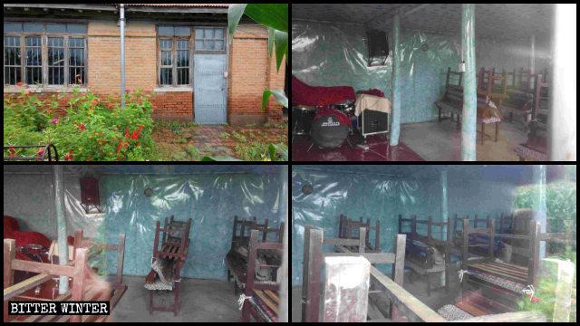 吉林省長春市農安県にある三自教会の集会施設が閉鎖された。