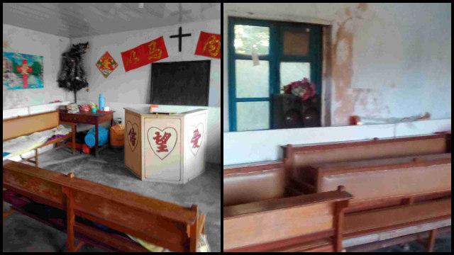 遼寧省丹東市九連城鎮にある三自教会の集会施設が閉鎖された。